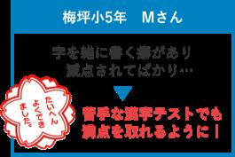 豊田市 浄水校の学習の実績4